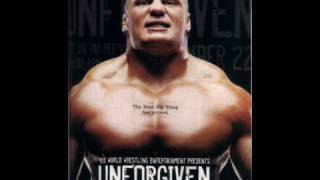 Official Theme Song Unforgiven 2002