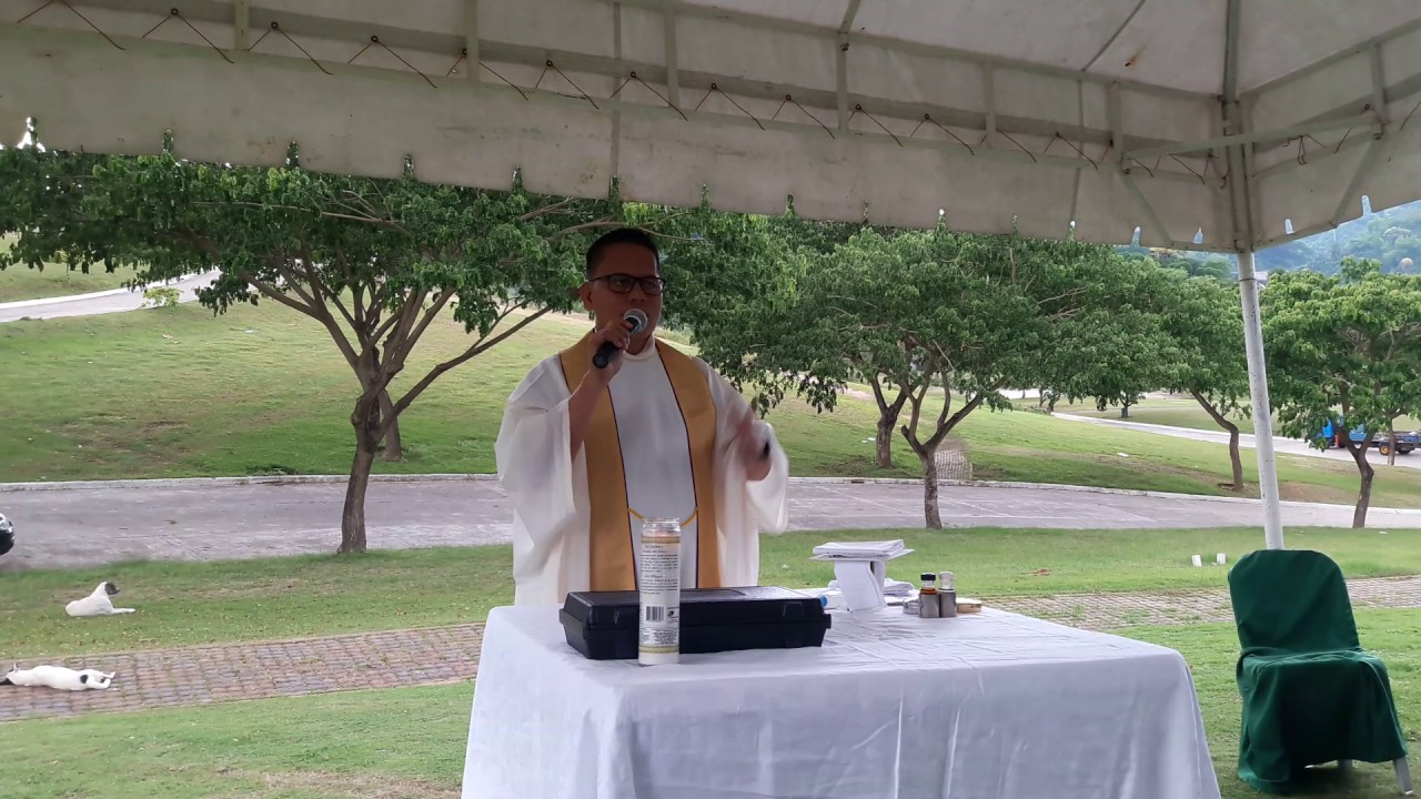 Fr  Andy Satura's funny homily