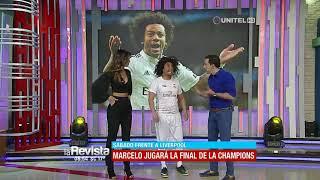 Humor: El ídolo 'Marcelo' se dio una vuelta por el país antes de la Champions