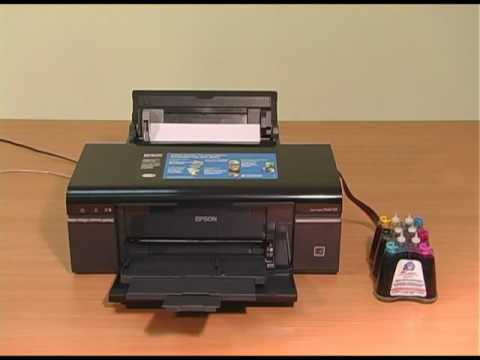 Continuous Ink System Ciss Cis Installation And Test