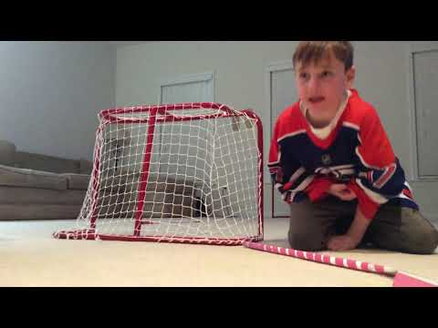 Red wings vs oilers mini hockey