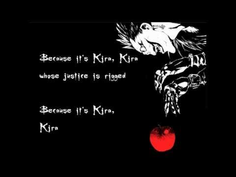 The Name Is Kira! Death Note Musical NY Demo [Lyrics]