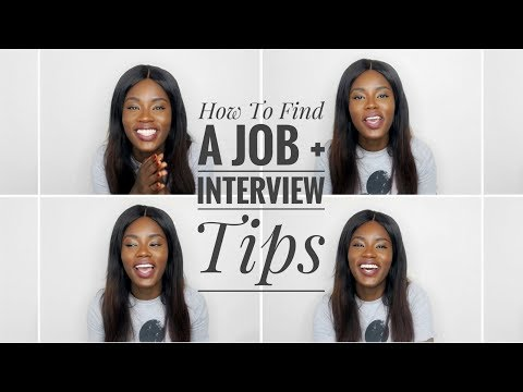 LIFE AFTER UNI, HOW TO FIND A JOB + INTERVIEW TIPS