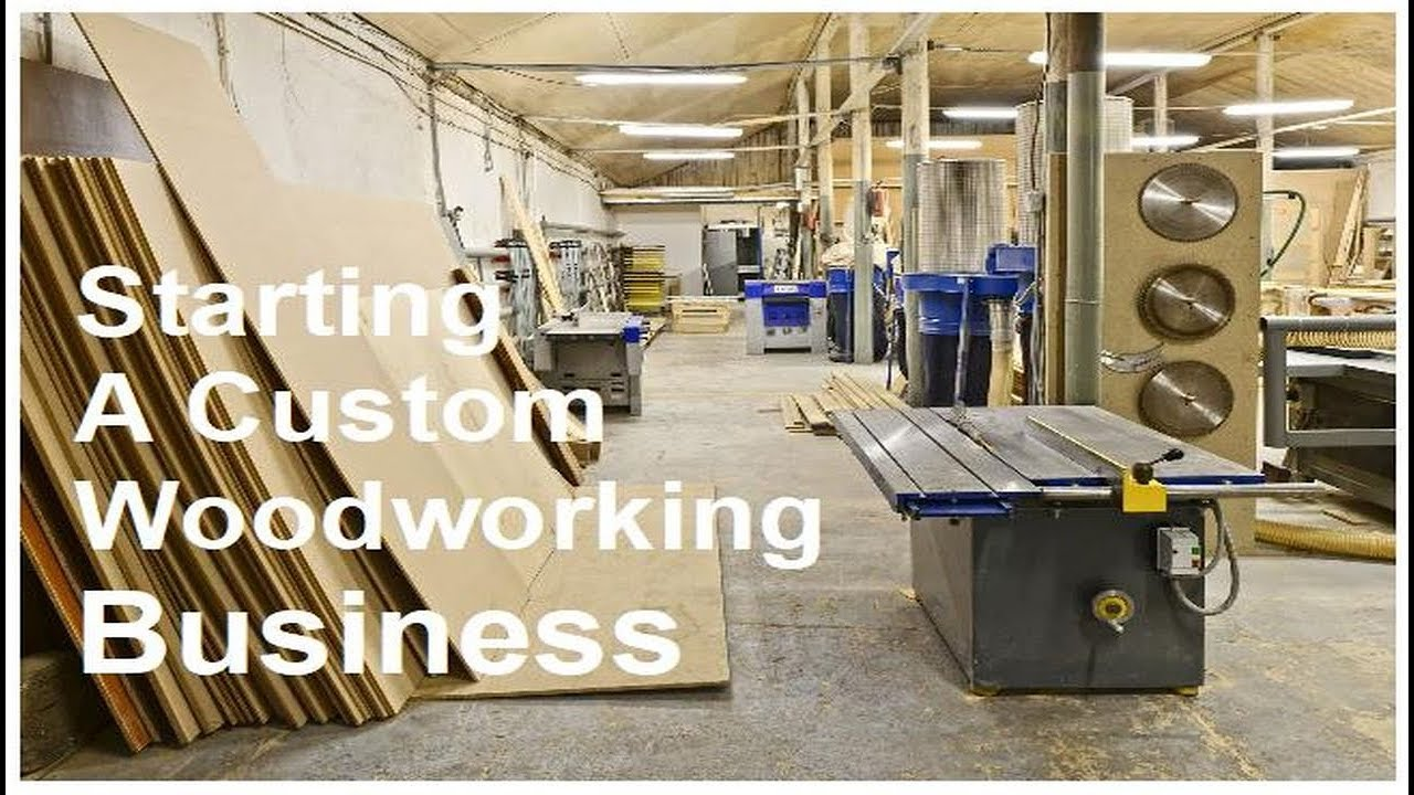 Starting A Custom Woodworking Business - YouTube