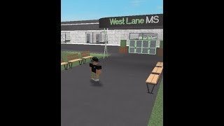 Playing WLMS || West Lane Middle School (Summer Building) Roblox