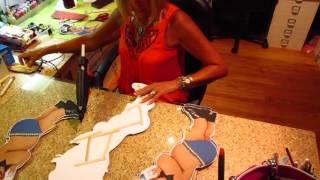 Bottles & Bowties Baby Shower Centerpieces