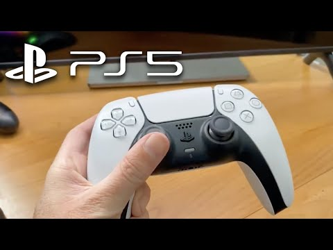 PS5 Controller FIRST LOOK Hands-On By Sony! (PS5 DualSense Controller)