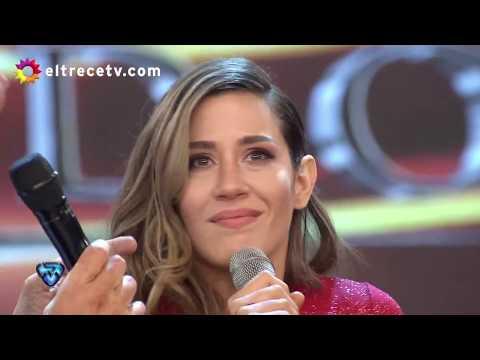 Jimena Barón hizo un gesto polémico cuando Tinelli nombró a Daniel Osvaldo