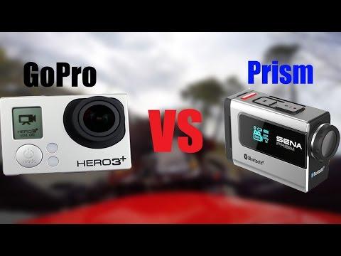 Sena Prism VS GoPro Hero 3+ Black Edition