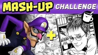 Waluigi + Junji Ito: Style Mash-Up Challenge