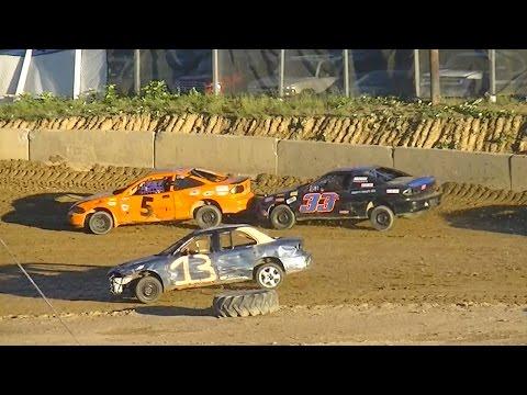 Mini Stock Heat One | Old Bradford Speedway | 9-11-16