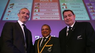 REACTION: Rugby World Cup 2019 Draw