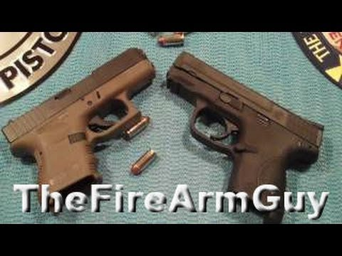 Glock 27 vs S&W M&P - TheFireArmGuy