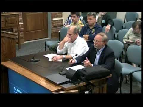 Board of Selectmen Meeting - October 16th, 2017
