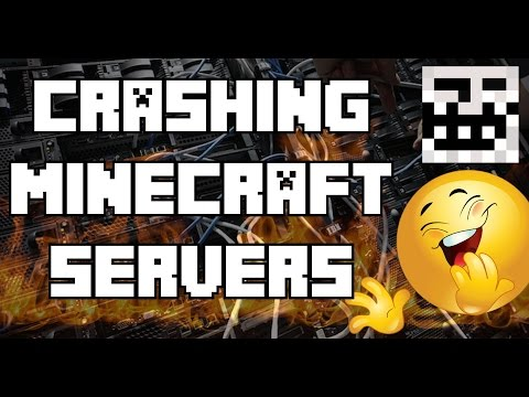 CRASHING MINECRAFT SERVERS LIVE (JOIN US)