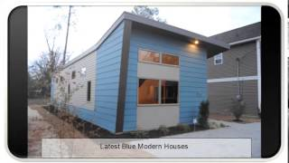 Latest Blue Modern Houses