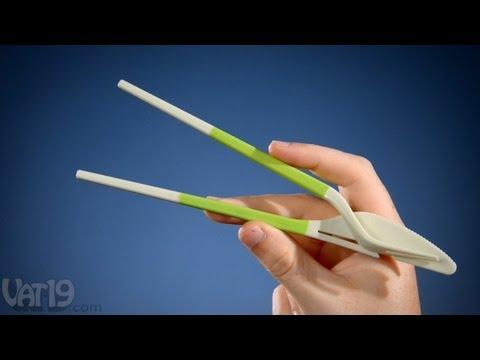 Dĩa, dao và đũa 3 trong 1