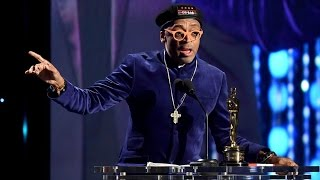 Spike Lee Receives Oscar (Full Intro and Speech)