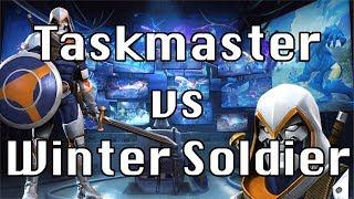 Taskmaster vs ROL Winter Soldier!!! Marvel Contest of Champions