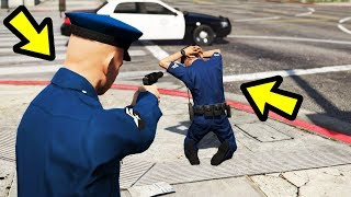 GTA 5 - What if You Arrest a Police Officer? (Police Mod)