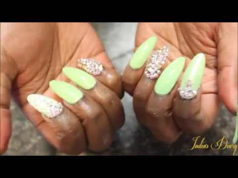 Best Etsy Press On Nails Luxurious From Studdedrosenails
