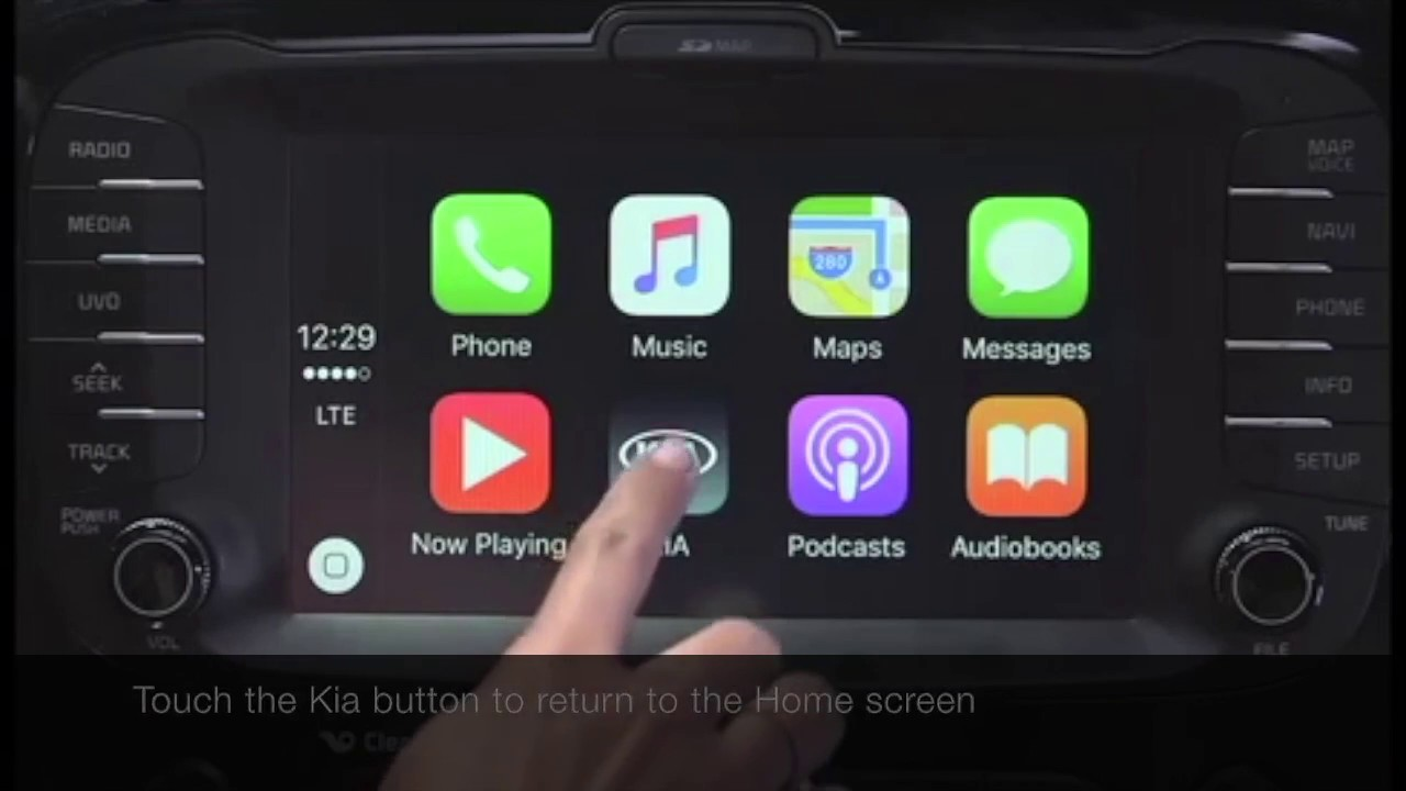 How To Set Up Apple Carplay On Your Kia Car Youtube