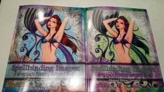beginners vs advanced grayscale coloring book comparison video spellbinding images volume 2
