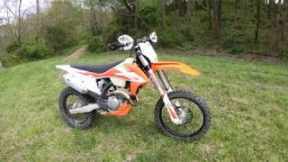 2020 KTM 250XCF Quick Ride and Impressions: Fun and Fast!