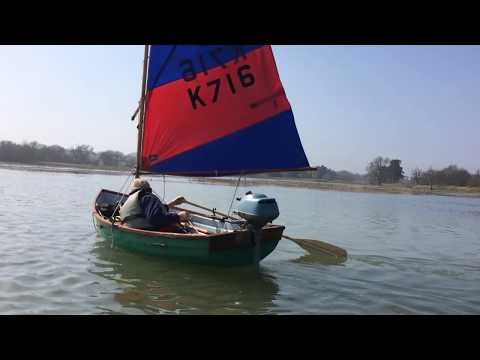 Sailing the Marsh Tide on the Deben in Suffolk