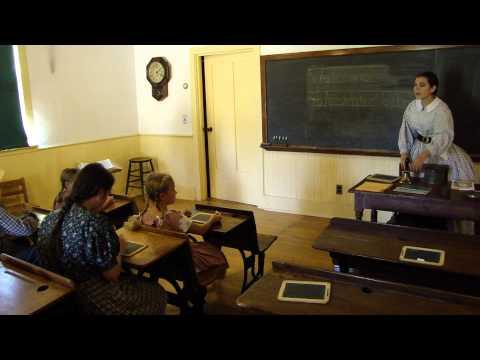 Living History - 19th Century School (pt. 1)