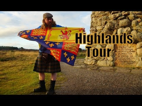 Visiting the Scottish Highlands - Culloden and Clava Cairns - with Haggis Adventures in Scotland