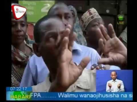 Ukaguzi Wa Majengo Mji Mkongwe Zanzibar