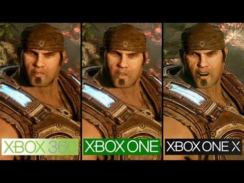 Gears of War 3 | Xbox 360 vs Xbox One vs Xbox One X | 4K Graphics Comparison