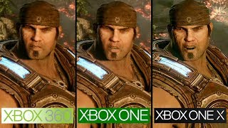 Gears of War 3 | Xbox 360 vs Xbox One vs Xbox One X | 4K Graphics Comparison