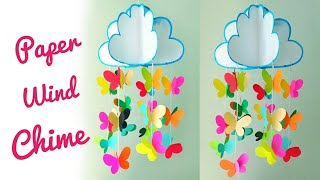 DIY - Wind Chime | Paper Craft | Easy Craft for children | Summer Craft Ideas | By Punekar Sneha