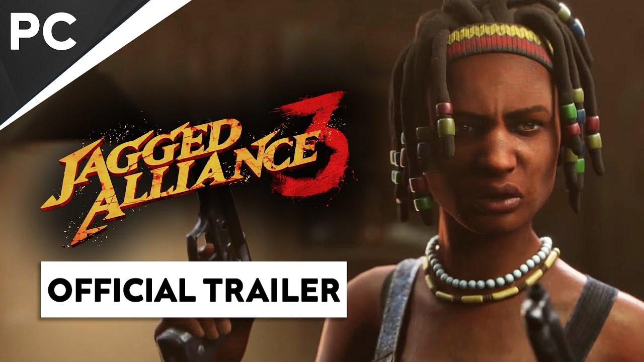 Jagged Alliance 3 la joue tactique sur PC ! Official Announcement Trailer