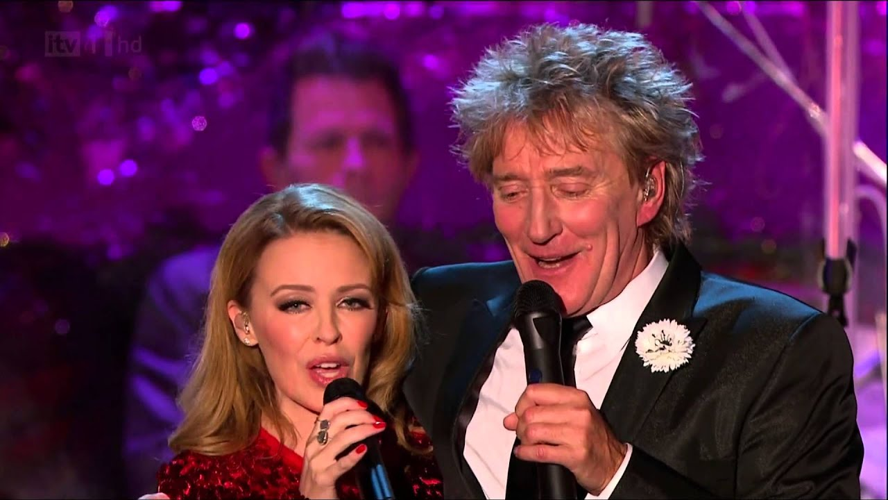 HD] LET IT SNOW (Live at Rod Stewart's Christmas) - Kylie Minogue ...