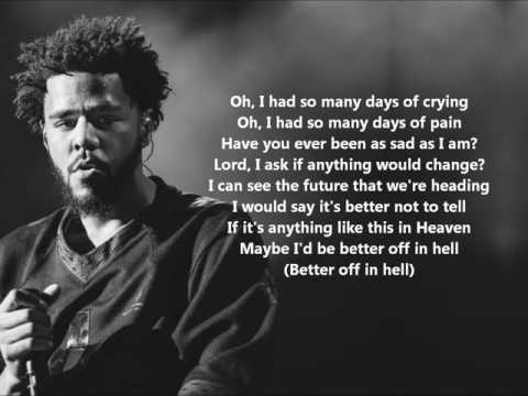 Jermaine Interlude (Lyrics) - J. Cole