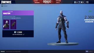 HOW TO HAVE THE NEW SKIN SANCTUM FREE ON FORTNITE! 100% INESS