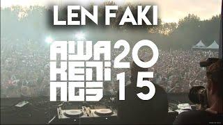 Len Faki @ Awakenings Festival 2015, Amsterdam (27-06-2015)