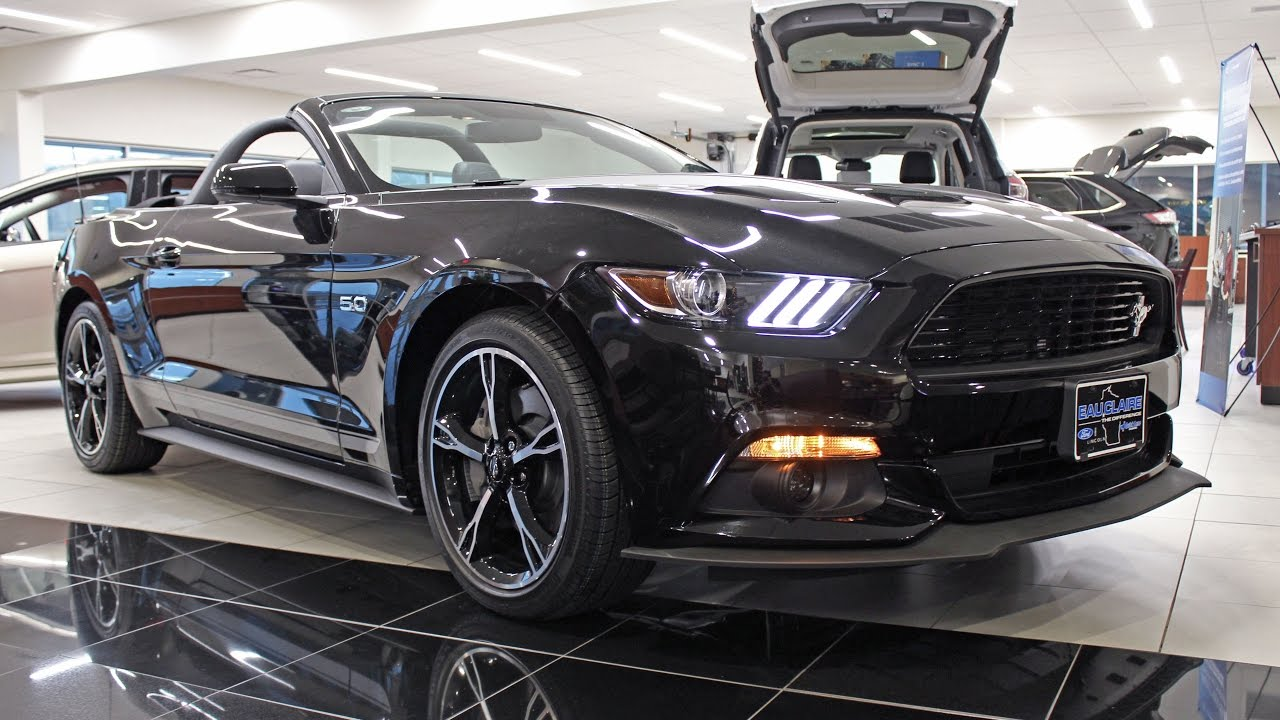 2017 Ford Mustang Gt Premium Convertible California Special At Eau Claire Lincoln Quick Lane You