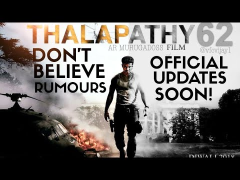 #Thalapathy62 Update - Recent News About Title, Roles Is False|Official Note Will Be Released Soon !