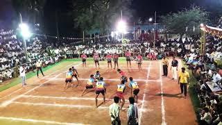 Tie break 55 raide kabaddi Bagalkot district Tulasigeri vs Kolhapur district Sadoli