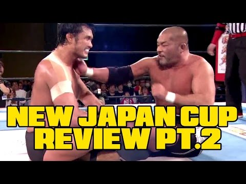 NEW JAPAN CUP 2017 REVIEW Part 2! (Going in Raw Podcast Ep. 191)