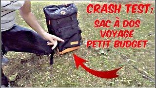 CRASH TEST : UN BON SAC À DOS DE VOYAGE PETIT BUDGET ?