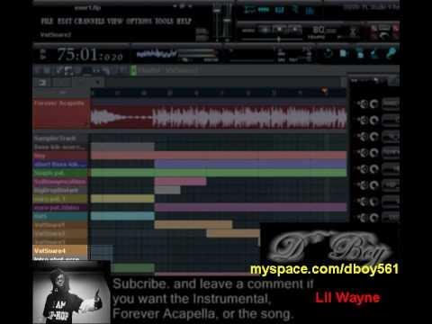 Forever Mix(rock theme)Drake, Kanye, Wayne, Eminem(Made in FL Studio 9)