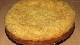 Рецепт лимонного пирога из песочного теста(Сладкий лимонный пирог со штрейзелем. Удивительно, но это вкусно! http://video-kulinar.ru/vy-pechka/limonnyj-pirog-video-retsept.html., 2014-05-23T05:22:11.000Z)
