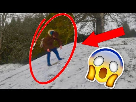 GIRL NEARLY DIES IN SNOW *RAW* (cool montage)
