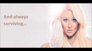 Christina Aguilera - Lotus Intro (lyrics)