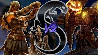 Smite - Masters Ranked 1v1 Duel Nemesis VS Thanatos